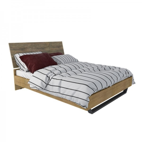 ALN 11641608 Κρεβάτι Ναυσικά 110Χ215Χ160 (150Χ200) Κρεβάτια-Υποστρώματα-Κεφαλάρια