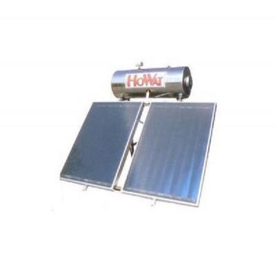 Ηλιακός HOWAT Glass 160 lt - 3 τ.μ. Διπλής Ενεργείας με 2 Επιλεκτικούς Συλλέκτες