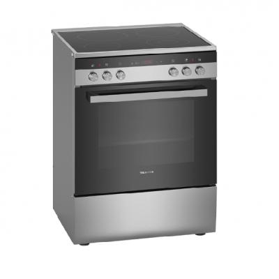 Siemens Premium Ελεύθερη κουζίνα Inox HK9R3C150