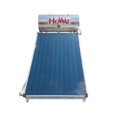 Ηλιακός HOWAT Glass 120 lt - 2 τ.μ. Διπλής Ενεργείας Επιλεκτικός Συλλέκτης