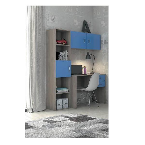 Γραφειο - Βιβλιοθηκη - HML Γραφείο-Βιβλιοθήκη Σετ/3 180Χ140Χ45 Γραφεία - Τραπέζια Συνεδριάσεων