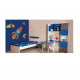 Παιδικα Επιπλα - ALN Σετ Ερμιόνη Παιδικό δωμάτιο Αγόρι (188χ133χ120 ) Παιδικά Επιπλα