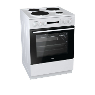 Korting Ελεύθερη κουζίνα Λευκή KE 6151 WPM