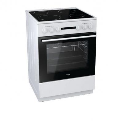 Korting Ελεύθερη κουζίνα Λευκή Κεραμική KEC 6141 WG