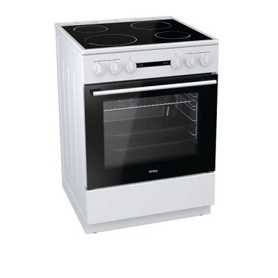 Korting Ελεύθερη κουζίνα Λευκή Κεραμική KEC 6151 WPG