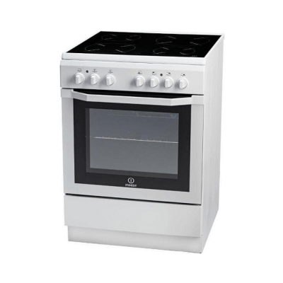 Indesit I6VMH2A (W)/GR Ελεύθερη Κουζίνα κεραμική