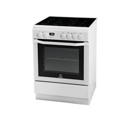 Indesit I6VMC6A (W)/GR Ελεύθερη Κουζίνα κεραμική