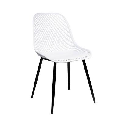 VRS Καρέκλα Lida Λευκό 900-230