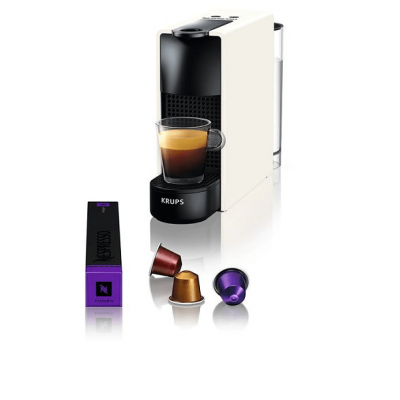 Krups XN1101S Μηχανή Espresso Essenza Mini White