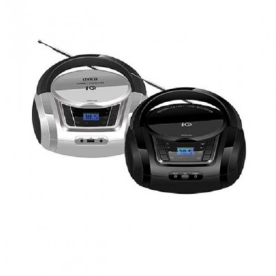 IQ Φορητό Ράδιο-CD με USB CD-498 silver