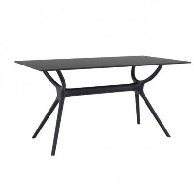 ZGR Τραπέζι Air Black 140Χ80 Laminate 20.0184