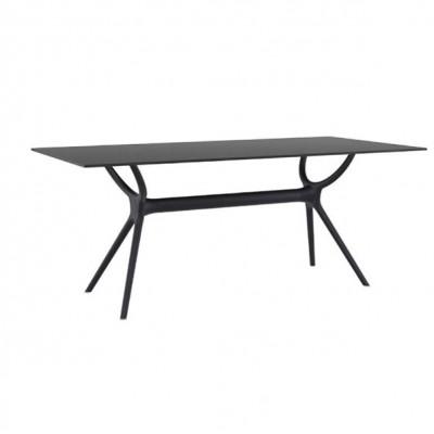 ZGR Τραπέζι Air Black 180Χ90 Laminate 20.0186