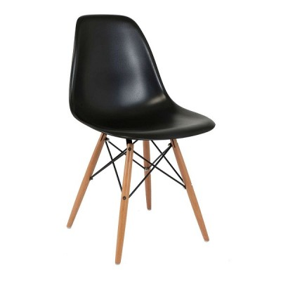 VRS Καρέκλα Anita-Wood Μαύρο 300-133