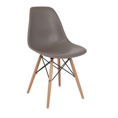 VRS Καρέκλα Anita-Wood Γκρί 300-127