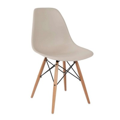 VRS Καρέκλα Anita-Wood Μόκα 300-128