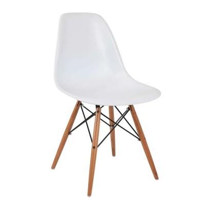 VRS Καρέκλα Anita-Wood Λευκό 300-134