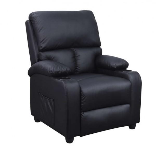 Πολυθρονα - ZGR Πολυθρόνα Massage Sunday Μαύρη 15.0007 Πολυθρόνες Relax