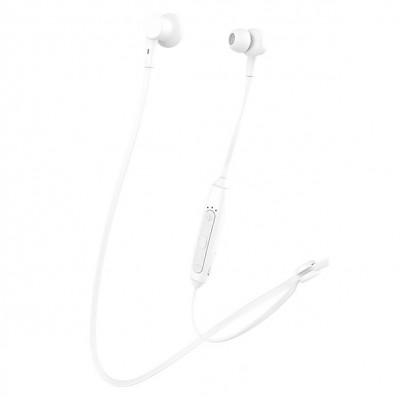 CELEBRAT bluetooth earphones A20 με μαγνήτη 10mm BT 5.0 λευκά