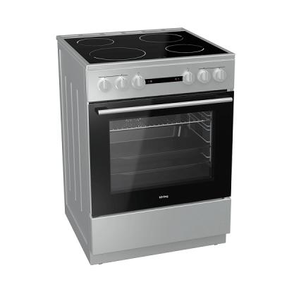 Korting Ελεύθερη κουζίνα INOX Κεραμική KEC 6141 IS