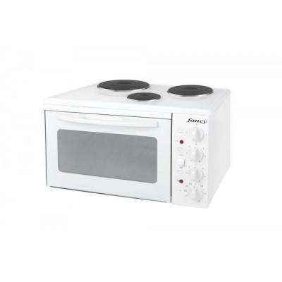 Fancy Κουζινάκι 0001 3 εστιών Λευκό