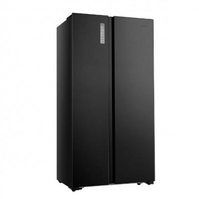 hisense Ψυγείο Ντουλάπα RS677N4BFE Black