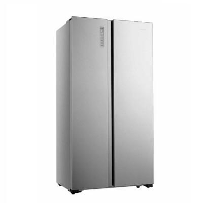 hisense Ψυγείο Ντουλάπα RS677N4BIE Inox